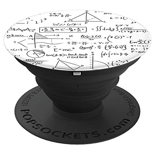 Mathematics Math Equations and Formulas - PopSockets Grip and Stand for Phones and ()