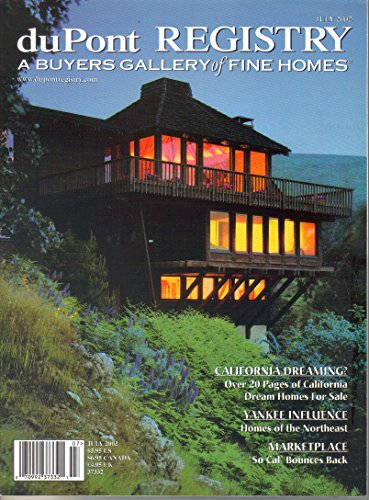 duPont Registry A Buyers Gallery of Fine Homes Magazine (July, 2002) (Montecito Stone)