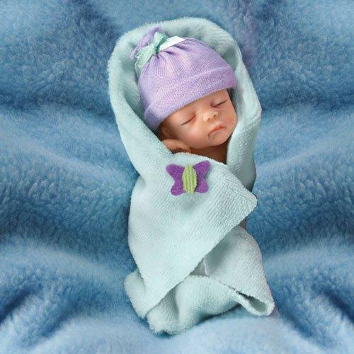 "0302196002 Bundle of Joy 4"" Ashton Drake Doll BUNDLE BABIES"
