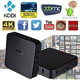 JUNING 7X Android TV Box Amlogic S805 Quad Core Kodi Xbmc Fully Loaded 1080p IPTV OTT TV Root H.265 4k Smart Media Player