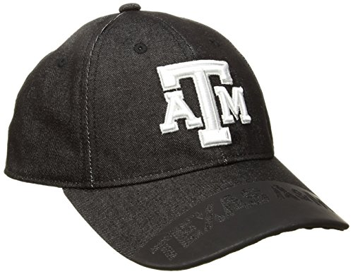 adidas NCAA Texas A&M Aggies Adult Men Player Heathered Slouch Hat, One Size, Black ()