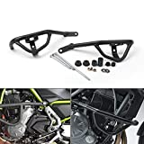 Areyourshop Black Crash Bars Engine Guard Frame Protector For Kawasaki Z650 2017