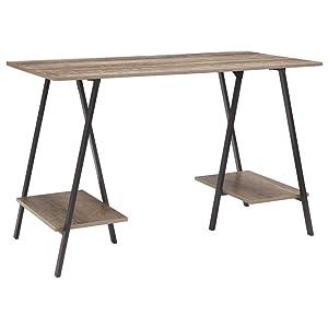 Signature Design by Ashley H300-310 Bertmond Home Office Desk, Two Tone