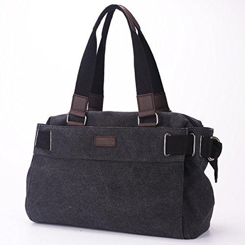 Männer Klassische Leinwand Reisetasche Lässig Schulter Diagonal Paket Mit Großer Kapazität Laptop-Tasche