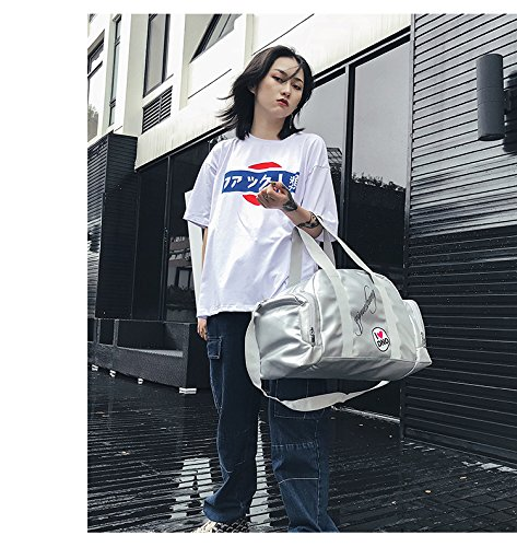 Silver for Handbags Tote Boston Capacity Designer Bag Women Large FZHLY Satchel Messenger Boarding Crossbody Shoulder w4qpn6X1