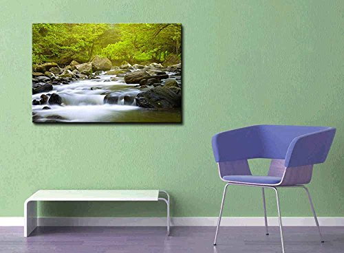 Mountain River in The Wood Home Deoration Wall Decor ing