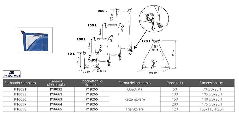 Normal Standard Unisex-Adult PLASTIMO PL16661