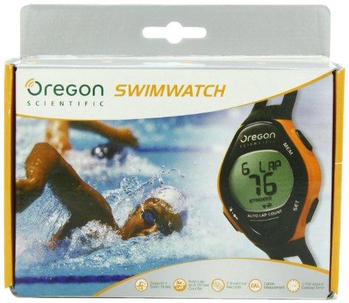 Oregon Scientific SW202 Swimming Watch, Black
