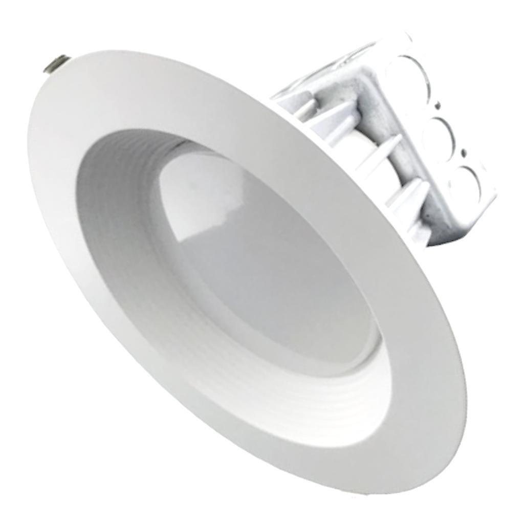 Morris 72630 LED Recessed Lighting Retrofit Kit 8 35W 4000K Baffled Bezel