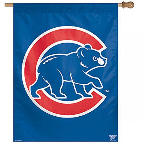 MLB Chicago Cubs 27-by-37-Inch Vertical - Chicago 37