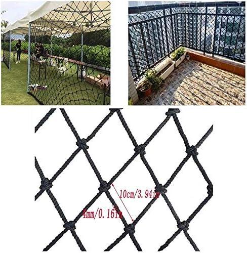 THBEIBEI Escaleras Balcón Resistente a los Golpes Neto Valla Infantil Red de Seguridad Jardín Anti-Net