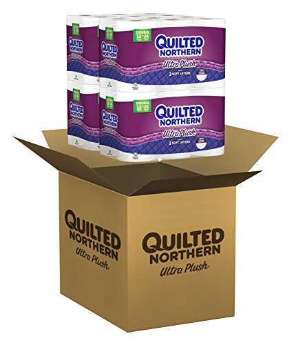 Quilted Northern Ultra Plush Toilet Paper Bath Tissue 48