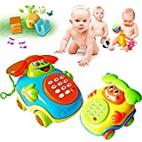 Bluelans Kids Sound Toys Music Car Buttons Phone Educational Intelligence Developmental Toy