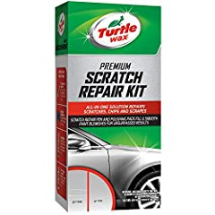 Turtle Wax Scratch Repair Kit can be used to remove lighter scratches from small to larger areas. For deep scratches, the Turtle Wax Premium Grade Scratch Repair Kit improves finish appearance when used in conjunction with touch-up paints, ma...