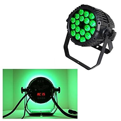 Proyector Par LEDs DMX IP65: Amazon.es: Electrónica