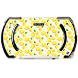 Lemon Lemon Lemons and More Lemons Pattern PSP Go Vinyl Decal Sticker Skin by Moonlight Printing