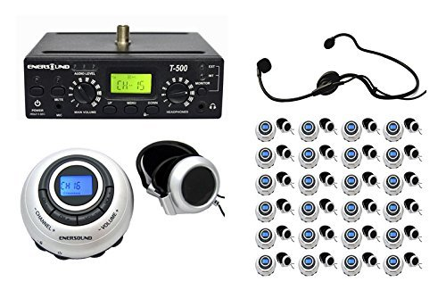 25-Person Multichannel Translation System with Interpreter Monitor. US-Based Lifetime Limited Warranty and Support: Ideal for Church, School & Conference Language Interpretation. Headsets Included. ()
