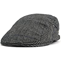 Mens Summer Flat Snap Hat Ivy Gatsby Newsboy Hunting Cabbie Driving Cap