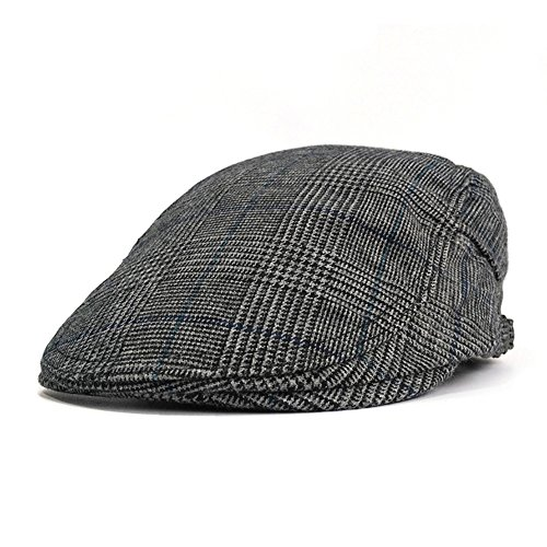 Men's Summer Flat Snap Hat Ivy Gatsby Newsboy Hunting Cabbie Driving Cap … (Color 3)