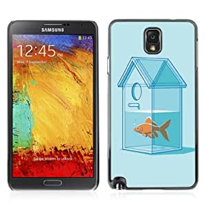 YOYOSHOP [Funny Goldfish House] Samsung Galaxy Note 3 Case