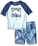 Tommy Bahama Boys' Rashguard and Trunks Swimsuit