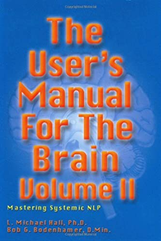 user s manual for the brain vol ii mastering systemic nlp l rh amazon com Manuals in PDF Owner's Manual