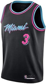 LHDDD NBA Baloncesto Uniformes Camiseta de la bola de verano de Urban Edition NBA Jersey Hot Team # 3 Wade Jersey Basketball Suit Camisetas Uniformes: Amazon.es: Bricolaje y herramientas