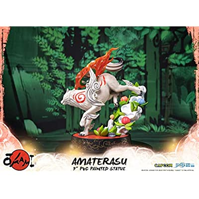 First4Figures 608685 Okami: Amaterasu PVC Collectable Figurine: Toys & Games