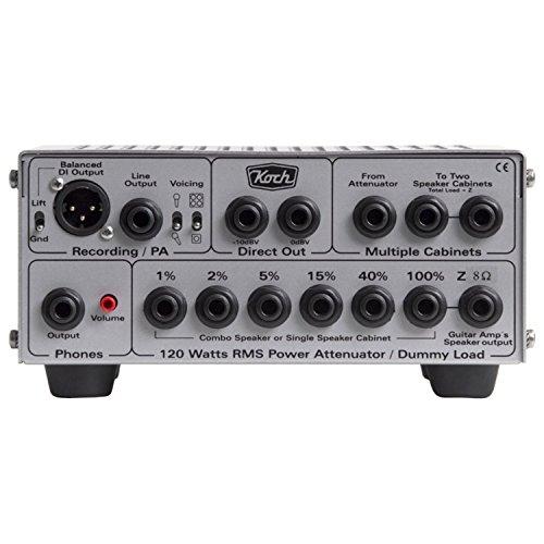Koch LB120-II/4 Loadbox II, 120W Power Attenuator, Fan Cooling, Speaker Simulator and DI box / 8ohm