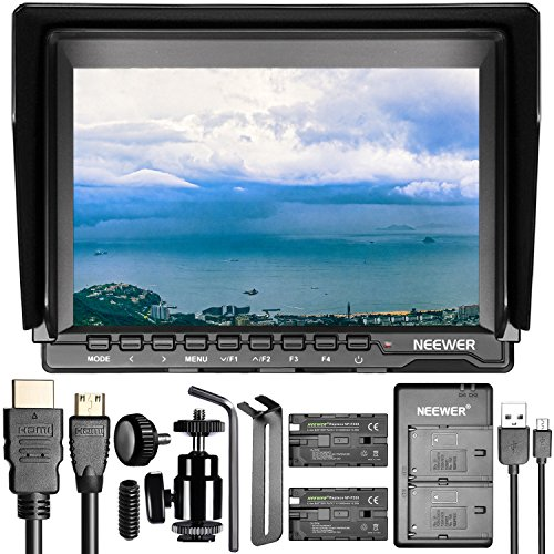 Neewer NW759 7 inches Camera Field Monitor Kit: 1280x800 IPS