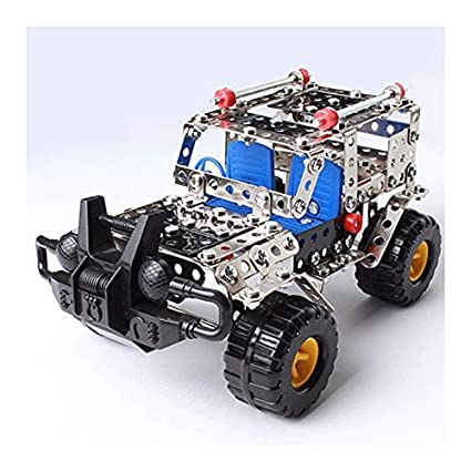 Metal Assembly Puzzle DIY Toy Kit Racing Car Model Kids Educational Xmas Gifts