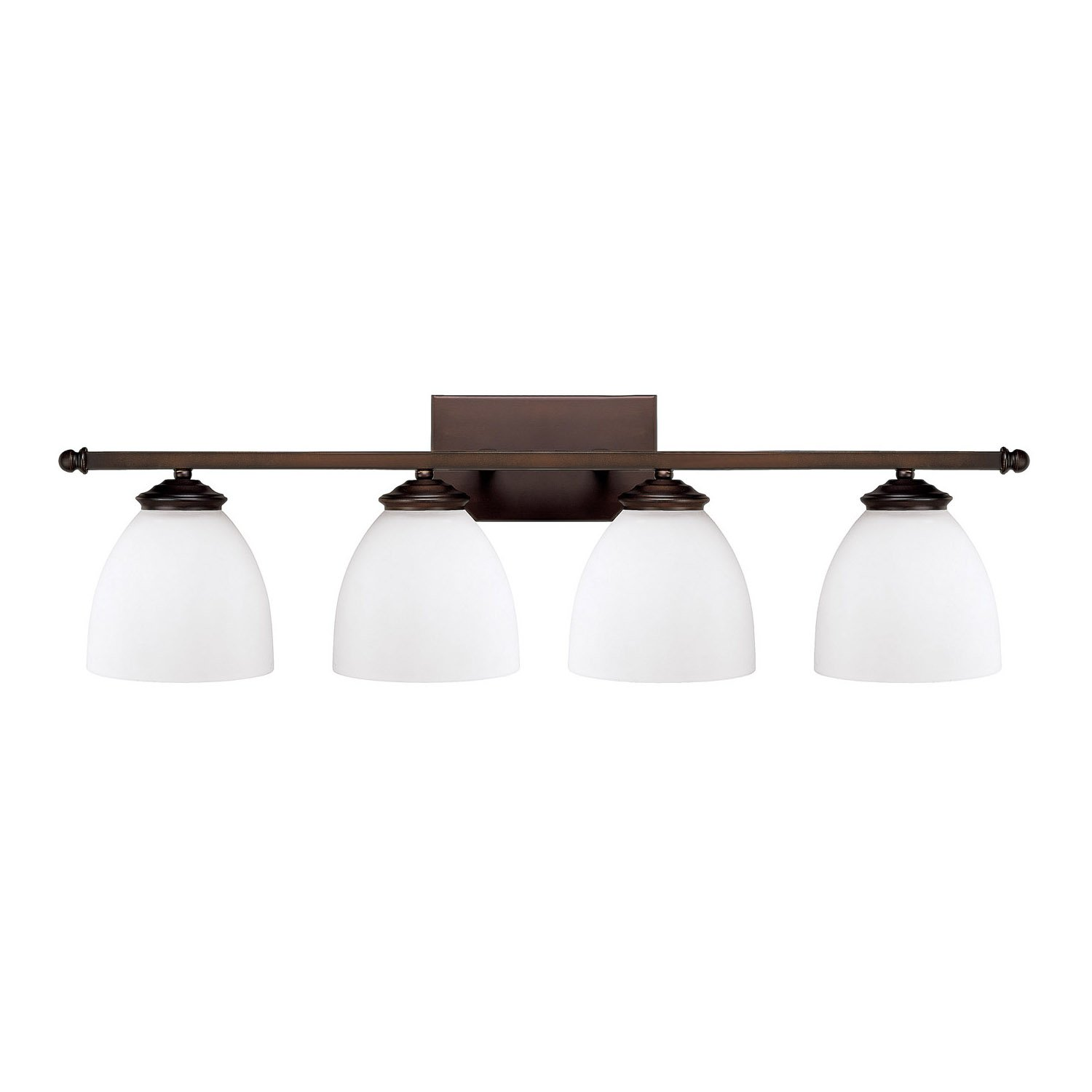Capital Lighting 8404BB-202 Four Light Vanity Fixture by Capital Lighting