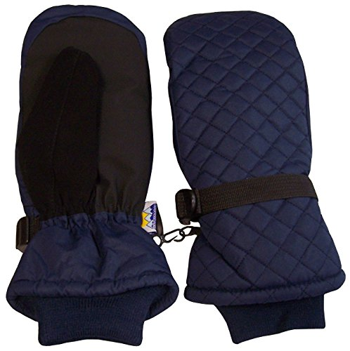 Unisex Quilted Waterproof Mittens winter camping clothes that make you stay warm with proper winter camping clothing