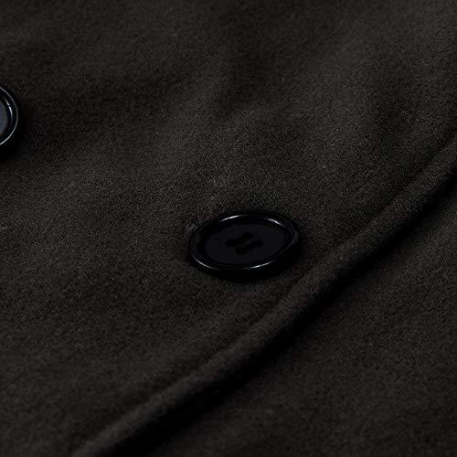 Manches Noir Blouse Femme Femme Longues T Blouson Femmes Boho Tops V Neck Couleur sans Hiver Deep Manches Ray Femme Manches Femme Peluche POTTOA T Shirts en 84Zn8a
