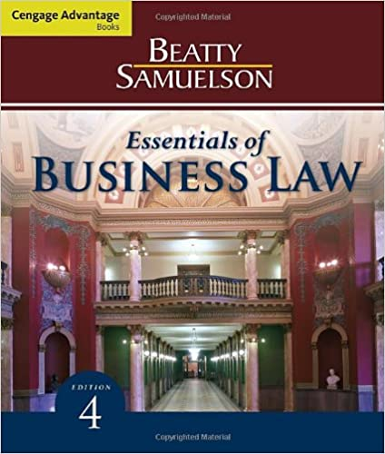 Amazon cengage advantage books essentials of business law cengage advantage books essentials of business law 4th edition fandeluxe Image collections