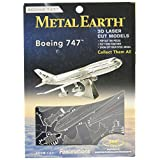 Fascinations Educational Products Metal Works Jet Airplane 3D Laser Cut Model Marvel