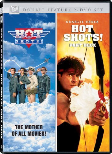 DVD : Hot Shots & Hot Shots Part Deux (2 Disc, Sensormatic)