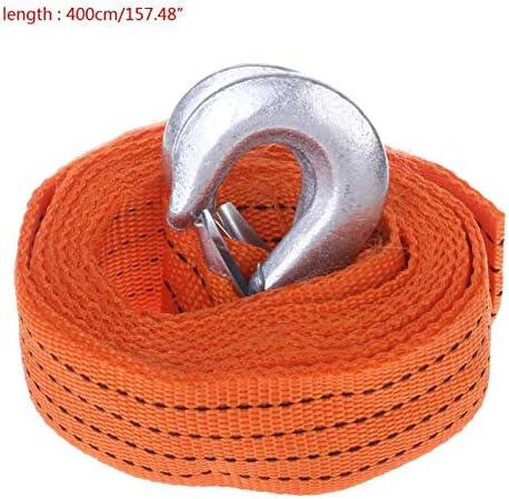 AoforzBrand Voiture Van 4M Remorquage 5 tonnes de Courroie de Corde de remorquage Crochets R/écup/ération de Route Robuste