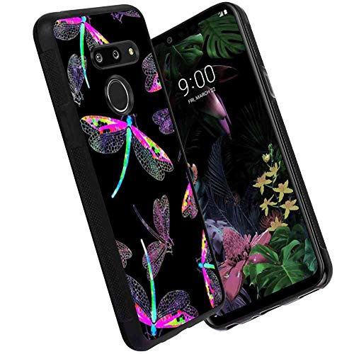 (Cell Phone Case Compatible for LG G8 ThinQ (2019) (6.1in) Dragonfly)