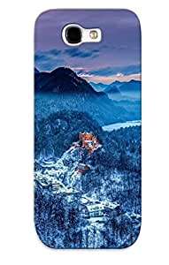 Storydnrmue Scratch-free Phone Case For Galaxy Note 2- Retail Packaging - Germany Southern Bavaria Castle