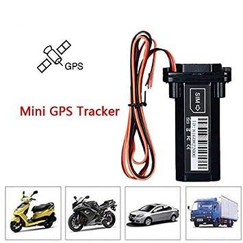 ZHENYAO Mini batería Impermeable Builtin gsm GPS rastreador para Coche Motocicleta vehículo rastreador Dispositivo con aplicación: Amazon.es: Coche y moto