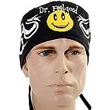 USA Made Dr. Feelgood Smiley Face Medical Scrub Cap Adjustable Ties Doctor Nurse Vet Aid Dentist