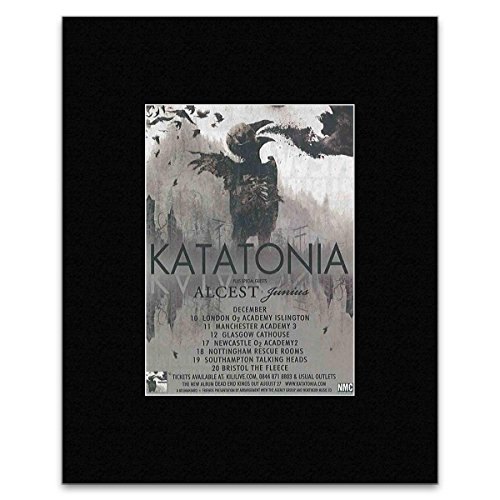 KATATONIA - December 2012 Mini Poster - 13.5x10cm