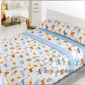 Juego de sábanas infantiles de pirineo para cama de 90, económicas ...