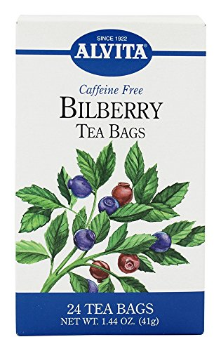 Alvita Bilberry Tea Bags bag product image