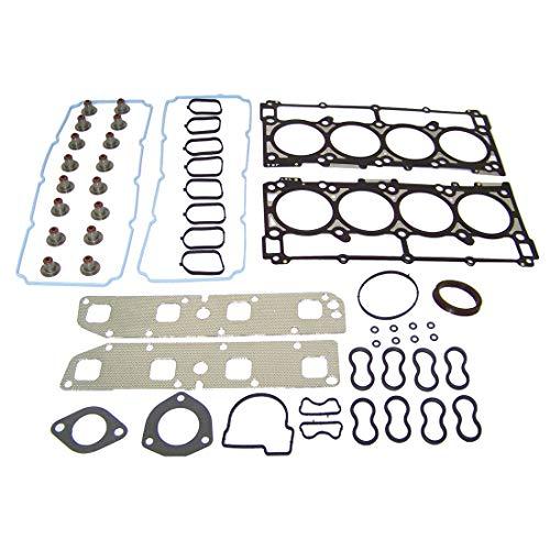 DNJ HGS1161 MLS Head Gasket Set/For 2007-2008/ Chrysler, Dodge, Jeep/ 300, Aspen, Charger, Commander, Durango, Grand Cherokee, Magnum, Ram 3500/5.7L/ OHV/ V8/ 16V/ 345cid/ VIN 2, VIN D, VIN H