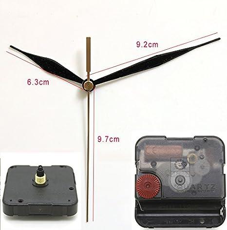 6mm Thread Quartz Clock Movement Mechanism Silent Mute Sweep Repair Replacement