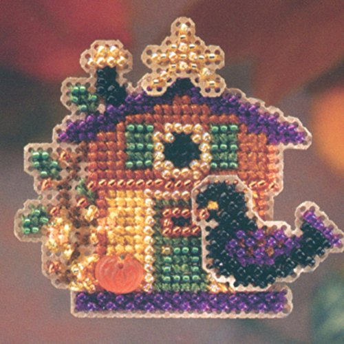 Halloween House - Pin Kit - Cross Stitch Kit ()