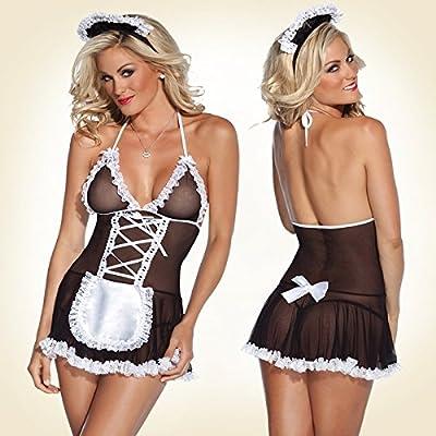 vaperfect los amantes de la lencería sexy mucama cosplay disfraz ...