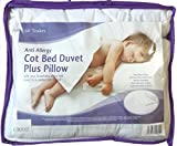 EDS Anti-Allergy Cot Bed Duvet with Pillow 4.5, 7 & 9 Tog with Hollowfiber filling (4.5 Tog)